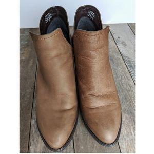 Steve Madden Alpasso Cognac ankle booties